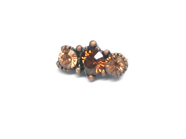 Copper Connector Bead - M1105