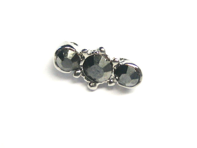 Silver Connector Bead - M808